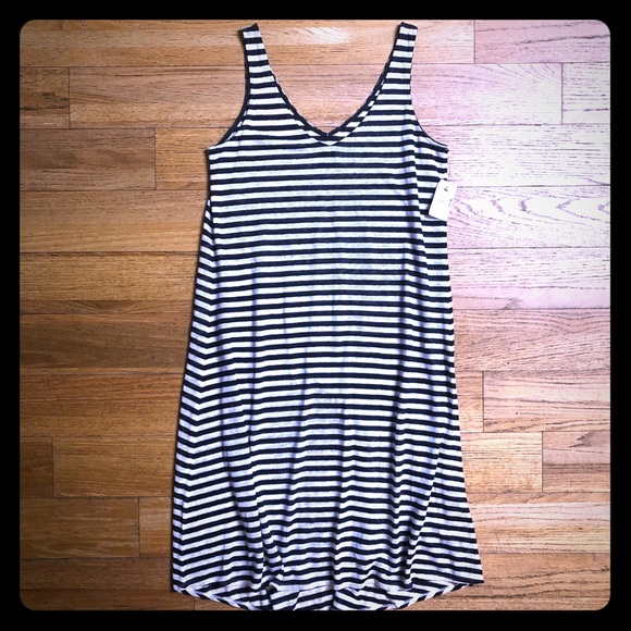"620a7413f2 Saks Fifth Avenue ""Blue"" Linen Dress"